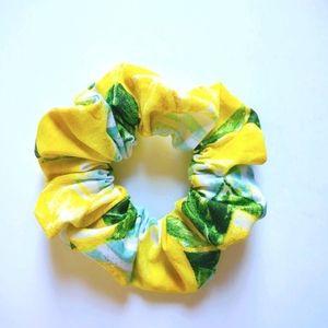 When Life Gives You Lemons Cotton Scrunchie